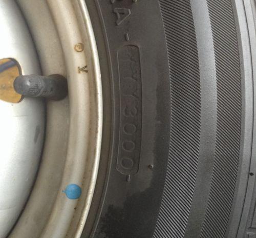 タイヤ製造年